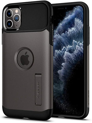 Spigen Slim Armor Designed for Apple iPhone 11 Pro Max Case (2019) - Gunmetal
