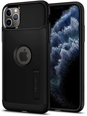 Spigen Slim Armor Designed for Apple iPhone 11 Pro Max Case (2019) - Black