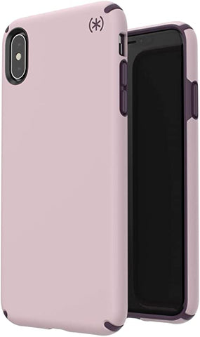 Speck Products Presidio Pro iPhone Xs Max Case, Meadow Pink/Vintage Purple