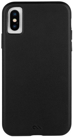 Case-Mate - iPhone XR Case - BARELY THERE LEATHER - iPhone 6.1 - Black Leather