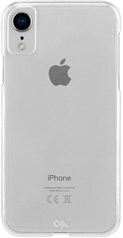 Case-Mate - iPhone XR Case - BARELY THERE - iPhone 6.1 - Clear