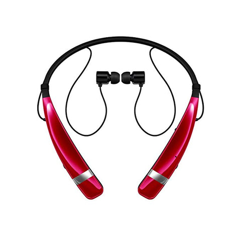 LG Tone Pro 760 Bluetooth Wireless Stereo Headphones with Microphone OPEN BOX (Pink)