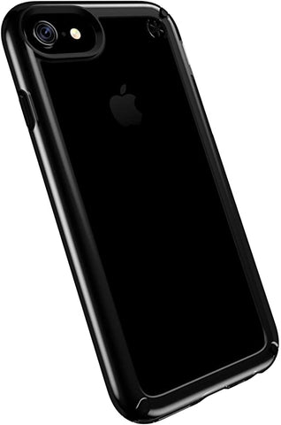 Speck Products Presidio Show Cell Phone Case for iPhone 7 Plus, 6S Plus and 6 Plus - Clear/Black