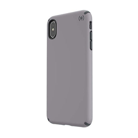 Speck Products Presidio Pro iPhone Xs Max Case, Filigree Grey/Slate Grey