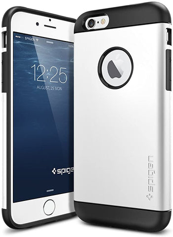 Spigen Slim Armor iPhone 6 Case with Air Cushion Technology and Hybrid Drop Protection for iPhone 6S / iPhone 6 - Shimmery White
