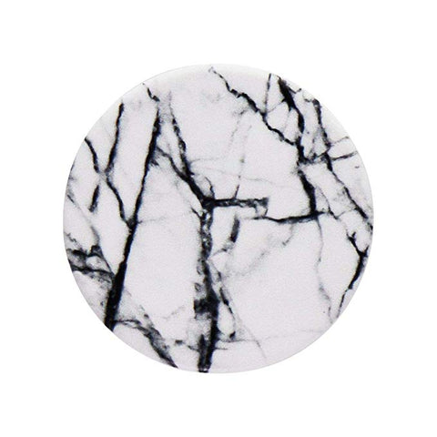 Popsockets PopGrip Series Phone Grip and Stand - Dove White Marble