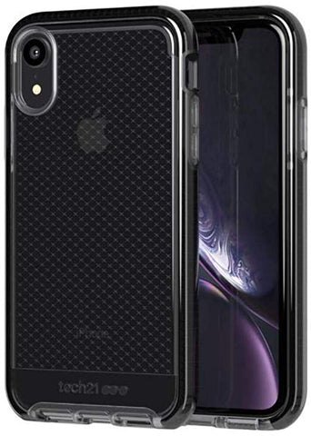 tech21 Evo Check Apple iPhone XR with 12 ft Drop Protection - Smokey/Black OPEN BOX