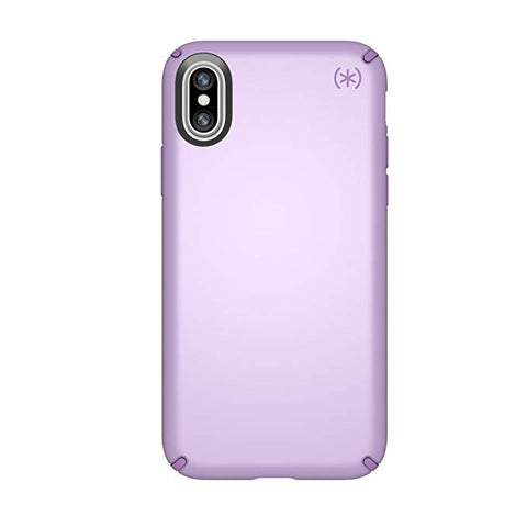 Speck Products Presidio Metallic Case for iPhone XS/iPhone X, Taro Purple Metallic/Haze Purple