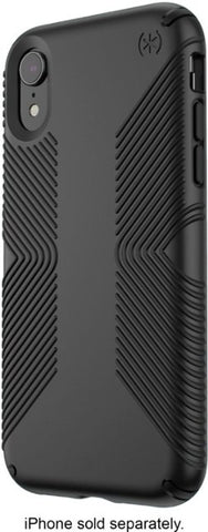 Speck - Presidio Grip Case for Apple iPhone XR - Black