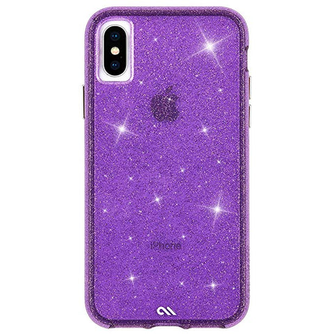 Case-Mate - iPhone XS Case - SHEER CRYSTAL - iPhone 5.8 - Crystal Purple