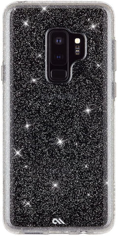 Case-Mate - Samsung Galaxy S9+ Case - SHEER CRYSTAL - Sparkle Effect - Protective Design - Clear