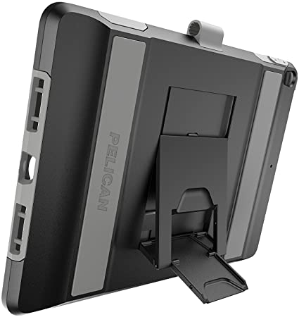 "Pelican Voyager iPad Pro 12.9"" Case (1st/2nd Generation) - Black/Grey"