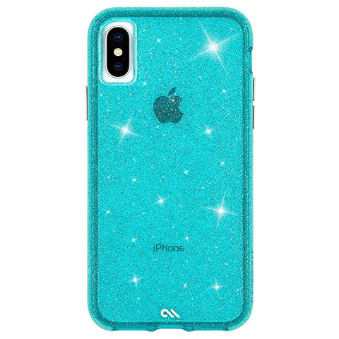 Case-Mate - iPhone XS Case - SHEER CRYSTAL - iPhone 5.8 - Crystal Teal