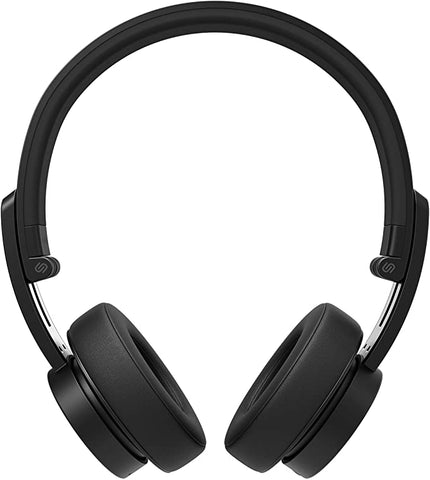 Urbanista Detroit Bluetooth On Ear Headphones [ Fashion Conscious ], Up to 12 Hours Play Time, Call-Handling with Microphone - Dark Clown