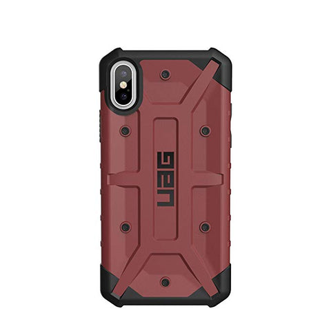 UAG iPhone Xs/X [5.8-inch Screen] Pathfinder Feather-Light Rugged [Carmine] Military Drop Tested iPhone Case