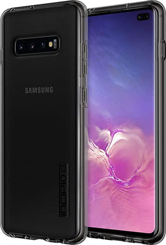 Incipio DualPro Dual-Layer Case for Samsung Galaxy S10 Plus with Hybrid Shock-Absorbing Drop-Protection - Clear/Cleay