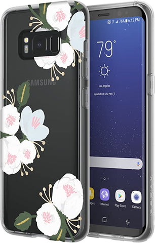 Incipio Design Series Glam Case for Samsung Galaxy S8 - Cool Blossom