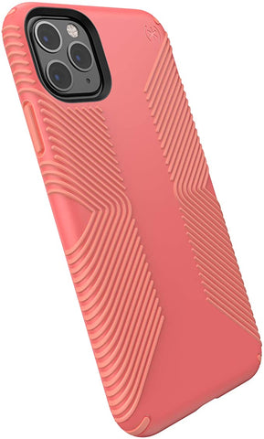 Speck Products 130026-8538 Presidio Grip iPhone 11 PRO Max Case, Parrot Pink/Papaya Pink