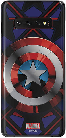 Samsung Galaxy Friends Captain America Smart Cover for Galaxy S10 Plus