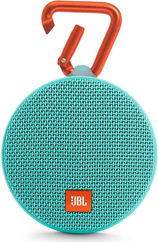 JBL Clip 2 Waterproof Portable Bluetooth Speaker (Teal)