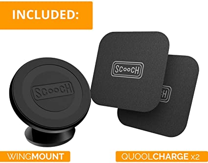 Scooch Wingmount | Universal Magnetic Car Mount