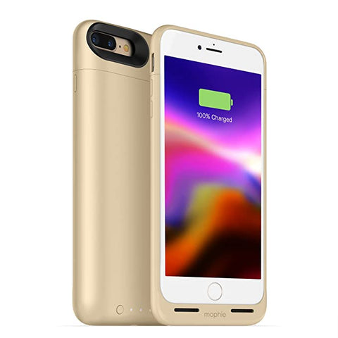 Mophie juice pack wireless / Force Wireless Power -  Case for iPhone 7/8 New SE– Gold