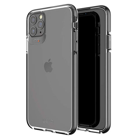 Gear4 Piccadilly Compatible with iPhone 11 Pro Max Case, Advanced Impact Protection with Integrated D3O Technology Phone Cover - Black