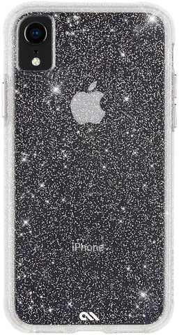 Case-Mate - iPhone XR Case - SHEER CRYSTAL - iPhone 6.1 - Crystal Clear