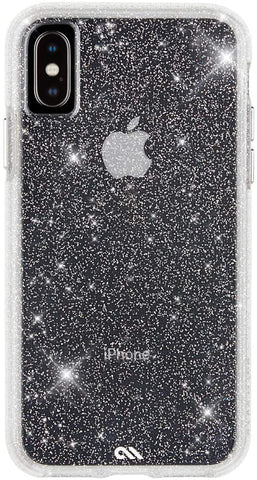 Case-Mate - iPhone XS Case - SHEER CRYSTAL - iPhone 5.8 - Crystal Clear
