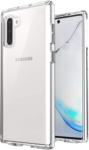 Speck Presidio Stay Clear Samsung Galaxy Note 10 Case, Clear/Clear