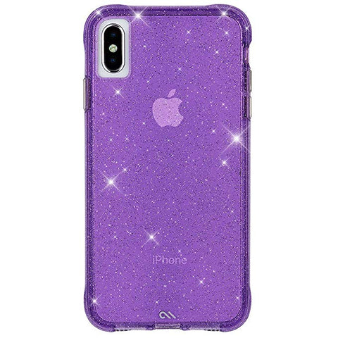 Case-Mate - iPhone XS Max Case - SHEER CRYSTAL - iPhone 6.5 - Crystal Purple