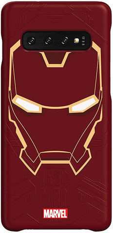 Haainc Samsung Galaxy Friends Iron Man Smart Cover for Galaxy S10 Plus