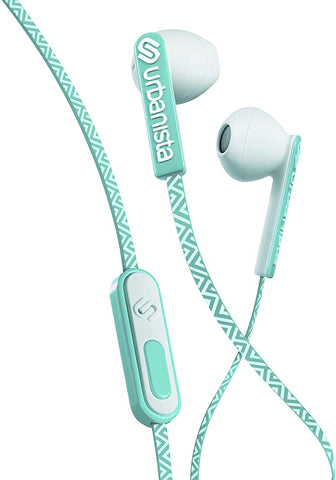 Urbanista San Francisco Earphones Dynamic Ear-Pods, Call-Handling with Microphone, 3.5mm Stereo Input - Ocean Drive