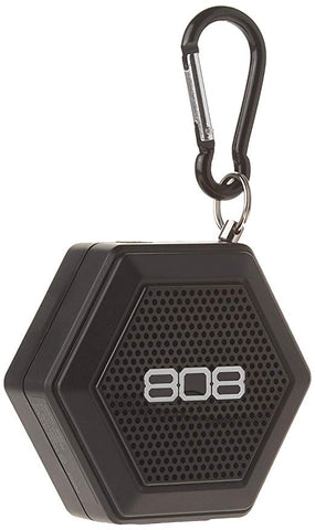 808 Audio HEX TETHER Portable Bluetooth Speaker - Black