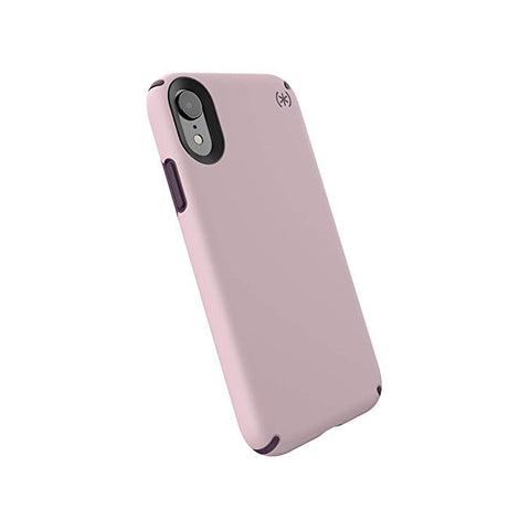 Speck Products Presidio Pro iPhone XR Case, Meadow Pink/Vintage Purple