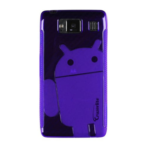 Purple Androidified Cruzerlite TPU Case- For Motorola Razr Hd