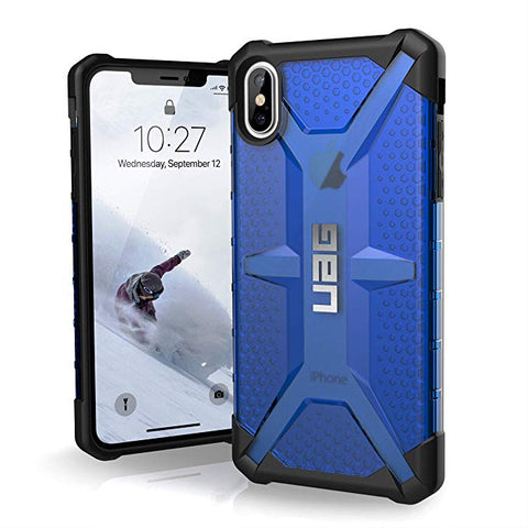 "UAG iPhone Xs Max [6.5"" Screen] PLASMA Feather-Light Rugged - Cobalt"