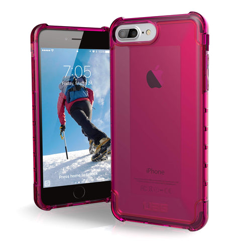 UAG iPhone 8 Plus/iPhone 7 Plus/iPhone 6s Plus [5.5-inch Screen] Plyo Feather-Light Rugged Pink