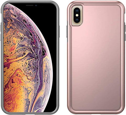 Pelican Adventurer iPhone Xs Max Case (Metallic Rose Gold/Grey)