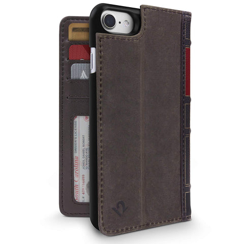 TS121432B Twelve South Bookbook For IPhone 6 6S Vintage Brown