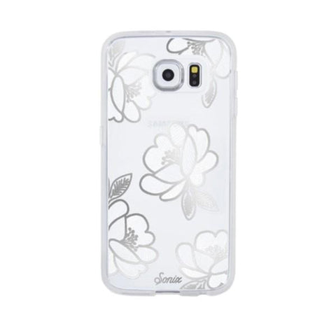 Sonix Clear Coat Case for Samsung Galaxy S8 Plus - Florette Silver