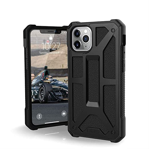 UAG Designed for iPhone 11 Pro [5.8-inch Screen] Monarch Feather-Light Rugged [Black]
