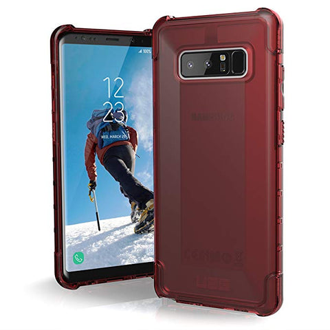 UAG Samsung Note 8 Plyo Feather-Light Rugged [CRIMSON] Military Drop Tested Phone Case