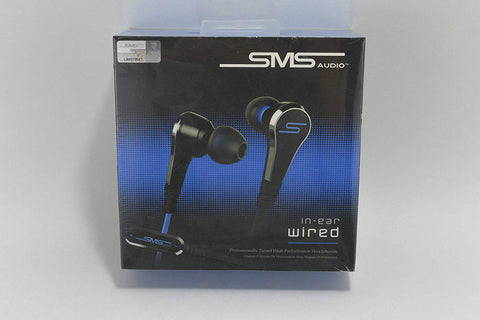 SMS Wired InEar 2 Black in-Ear Headphones Version 2