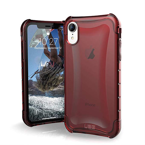 "UAG iPhone XR [6.1"" Screen] PLYO Feather-Light Rugged - Crimson"