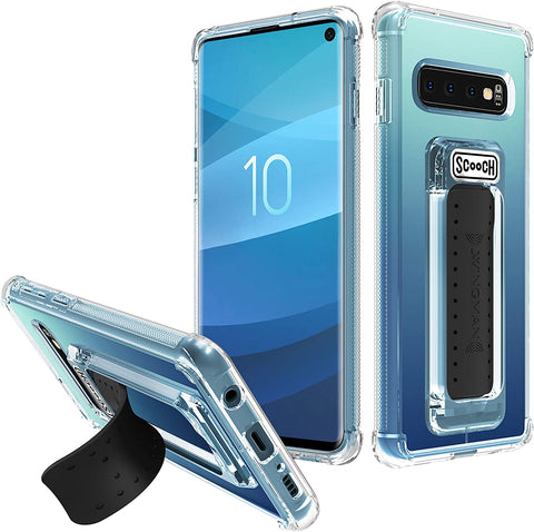 Scooch Wingman Case for Samsung Galaxy S10 (Clear)