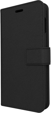 Skech Polo Book Wallet Protective Cover Detachable Case for Samsung Galaxy S10 - Black