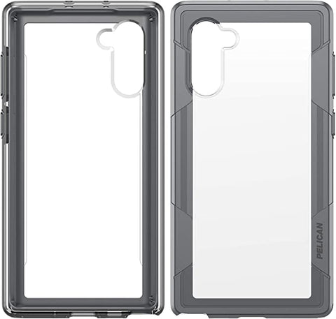 Pelican Voyager - Samsung Galaxy Note10 Case (Clear/Grey)