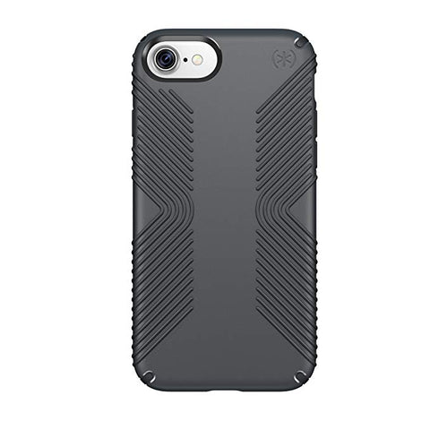 Speck Products 79987-5731 Presidio Grip Cell Phone Case for iPhone 7 - Graphite Grey/CHARCOAL Grey