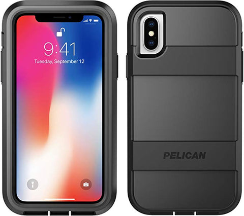 iPhone X/Xs Case | Pelican Voyager iPhone X/Xs Case (Black)